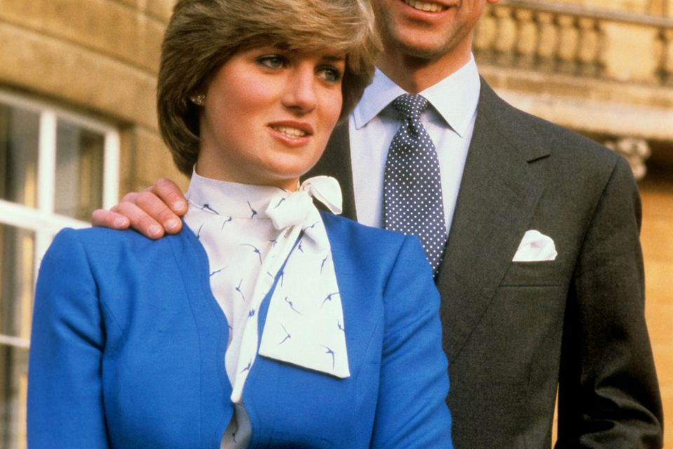 Lady Diana Spender und Prinz Charles