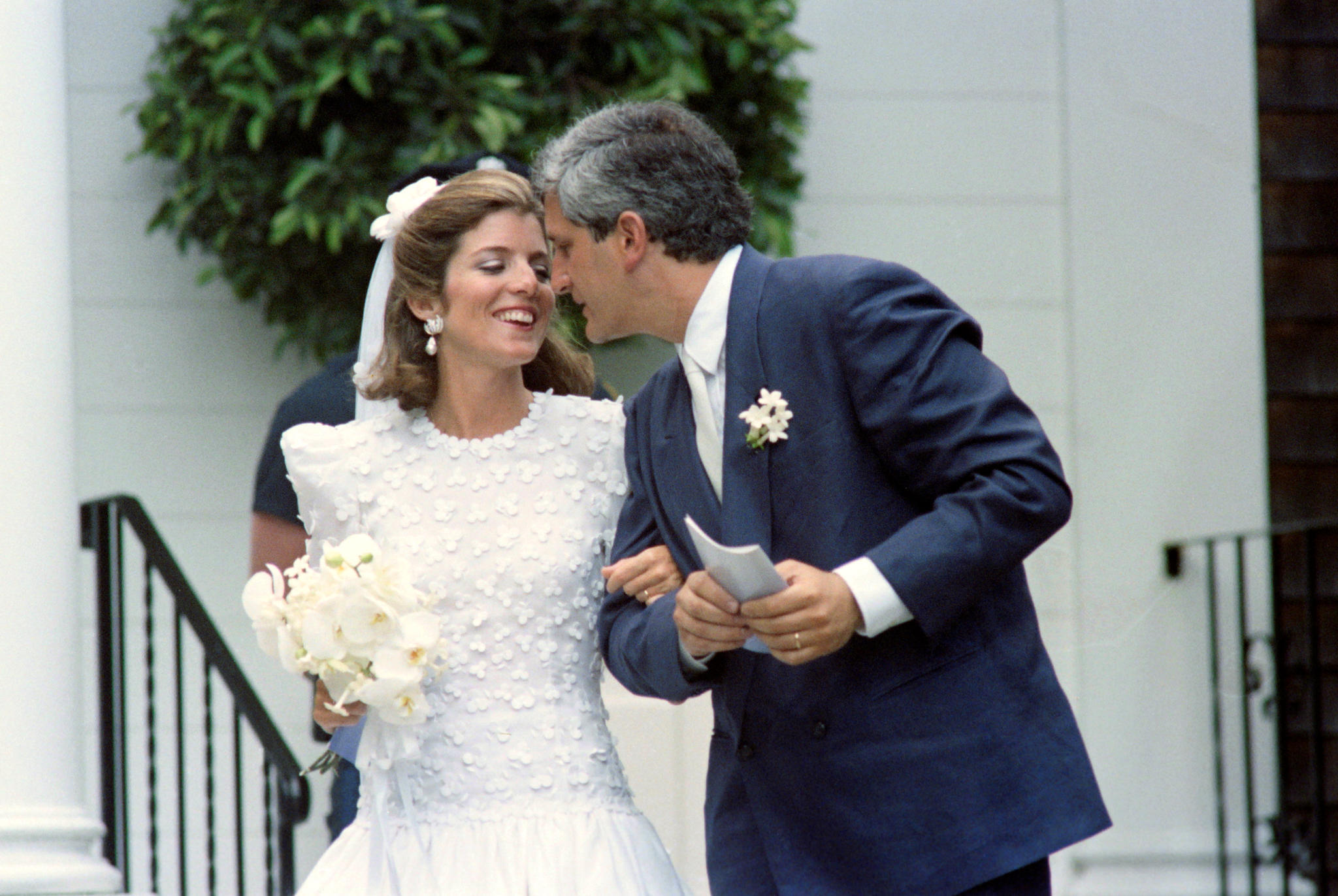 1986 heiratet JFKs Tochter Caroline KennedyEdwin Schlossberg.