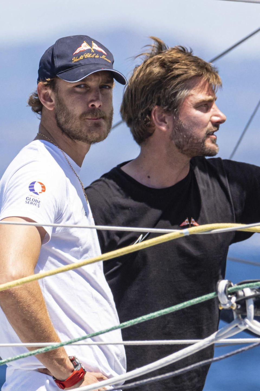 Pierre Casiraghi und Björn Hermann segeln mitGreta nach New York