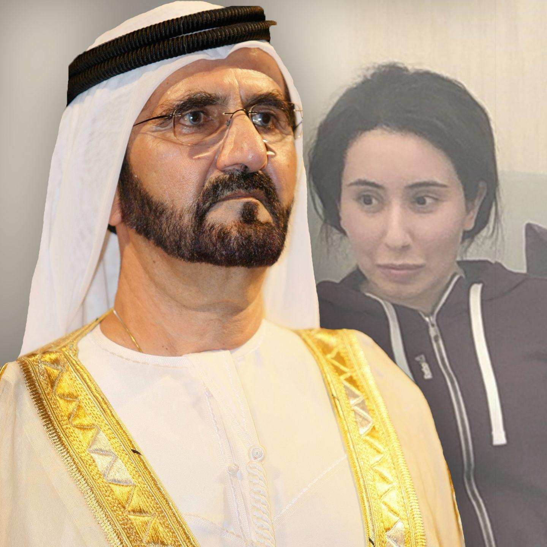 Scheich Mohammed bin Raschid al-Maktou undPrinzessin Latifa