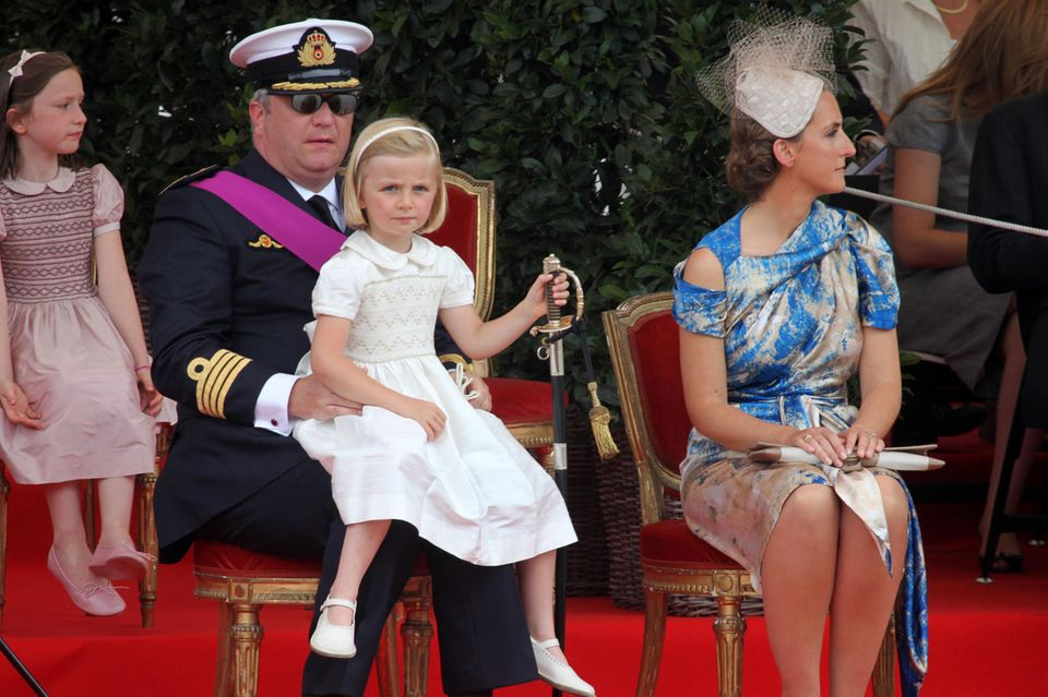 Prinz Laurent, Prinzessin Claire + Prinzessin Louise