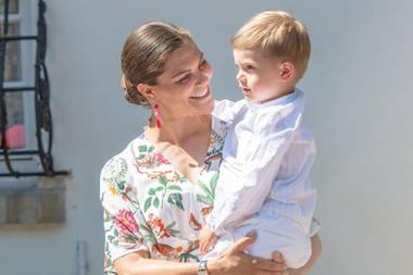 Prinzessin Victoria und Prinz Oscar
