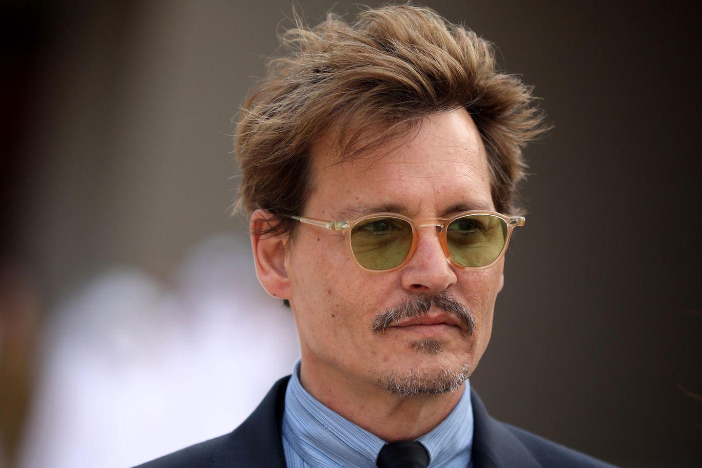 Johnny Depp: Johnny Depp in Doha