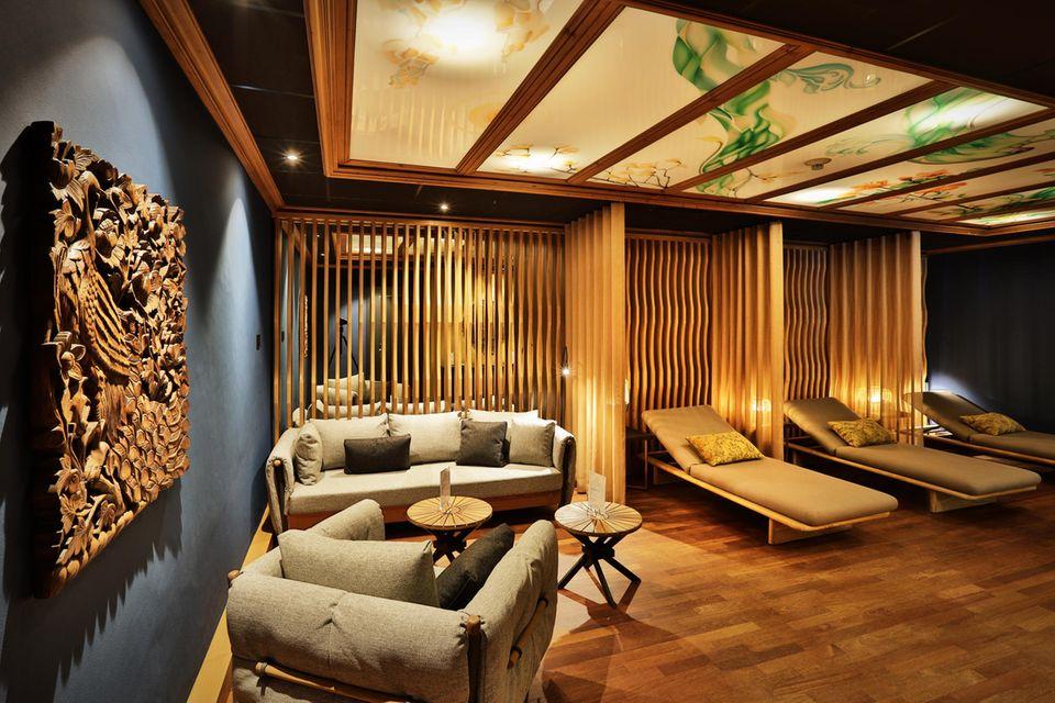 Der wunderschöne Spa im Ermitage Wellness- und Spa-Hotel in Gstaad-Schönried wurde erst im Mai 2019 komplett modernisiert.