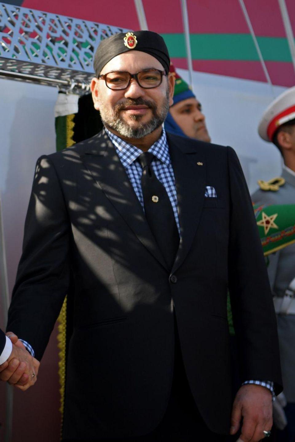 König Mohammed von Marokko, November 2018