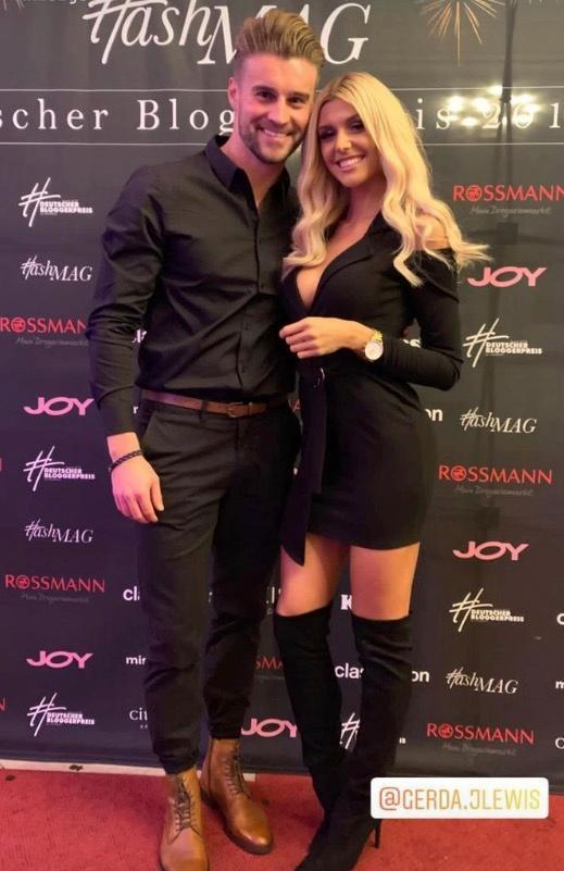 Alex und Gerda bei einem Event im November 2018