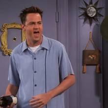 """Matthew Perrys Vater spielt in """"Friends"""" mit und niemandem ist es aufgefallen!"""