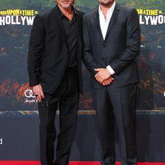 Hollywood goes Berlin: Mit Brad Pitt und Leonardo DiCaprio sind zwei der berühmtesten Männer der Welt am 1. August zu Gast in der Hauptstadt.