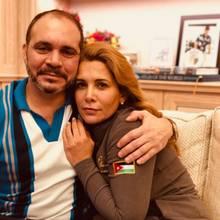 PrinzAli Al Hussein von Jordanien mit seiner Schwester Prinzessin Haya