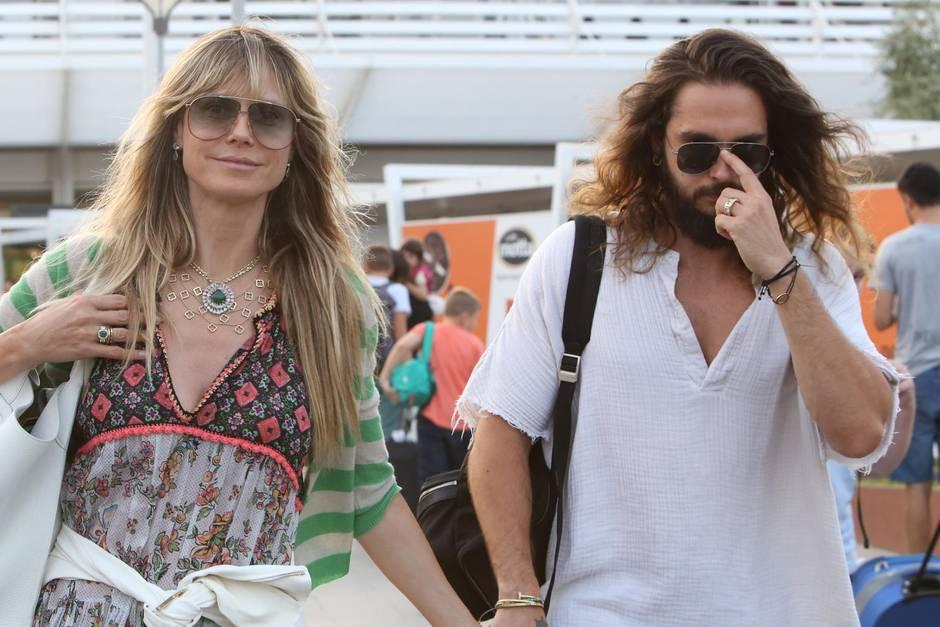 Heidi Klum In Italien Der Hochzeits Countdown Lauft