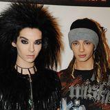 2008  Mittlerweile hat Bill Kaulitz eine gigantische Löwenmähne und auch das Haar von seinem Bruder Tom scheint länger geworden zu sein.