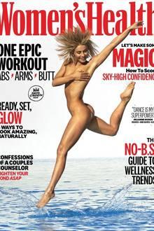 Schauspielerin Julianne Hough ziert mit ihrem Traumkörper das Cover der Women's Health. Doch trotz Wow-Body fallen vor allem ihre Haare ins Auge, die extrem unnatürlich wirken. Es sieht ganz so aus als sei ein wenig mit Photoshop nachgeholfen worden - Juliannes Haare wirken eher so als hätte sie in eine Steckdose gegriffen.