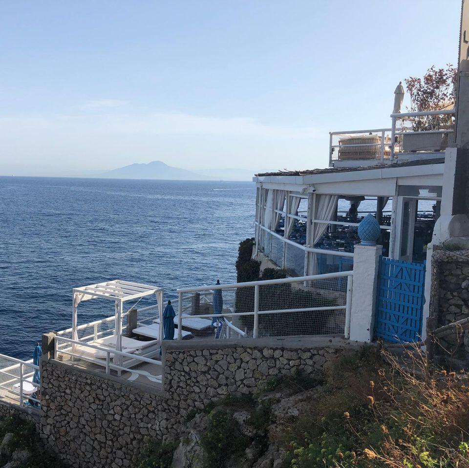 """""""Il Riccio"""" auf Capri"""