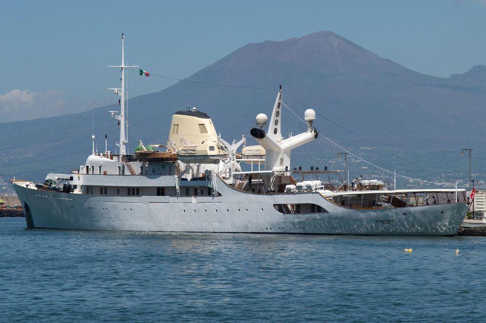 "Luxus-Jacht ""Christina O."""