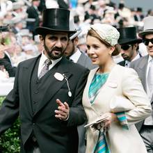 Scheich Mohammed und Prinzessin Haya