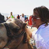 2. August 2019  Ob das Kamel so ganz glücklich ist über den Tourismus ist, wissen wir nicht, Jennifer Lopez ist es über dieses Erlebnis auf jeden Fall.