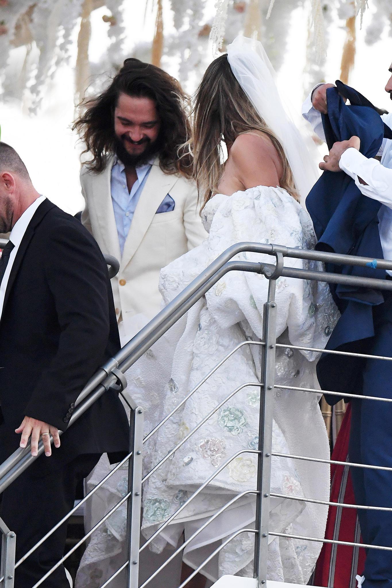 Hochzeit Mit Heidi Klum So Feierte Tom Kaulitz Seinen Jga