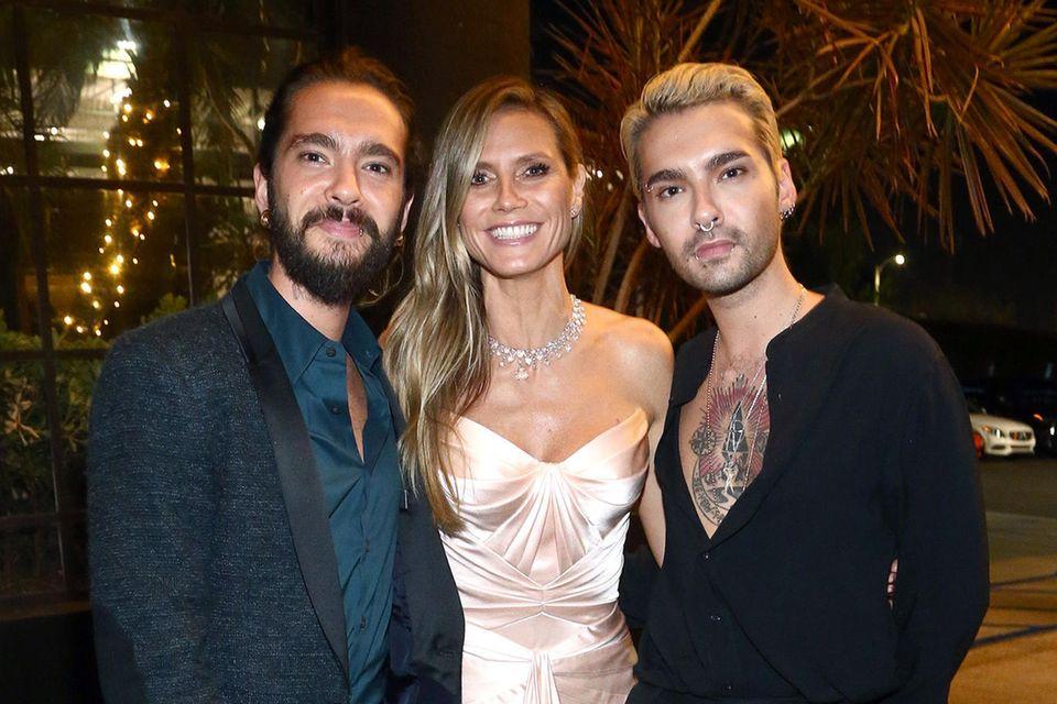 Tom Kaulitz, Heidi Klum, Bill Kaulitz