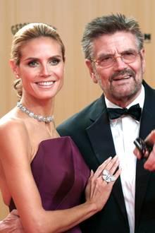 Heidi Klum und Günther Klum