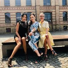 Verona Pooth, Jasmin Wagner und Eva Brenner