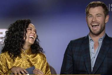 Chris Hemsworth: Dreht er mit MIB-Kollegin Tessa Thompson ein Drama?