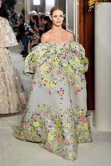 Natalia Vodianova im Januar 2019 auf der Fashion Week in Paris.