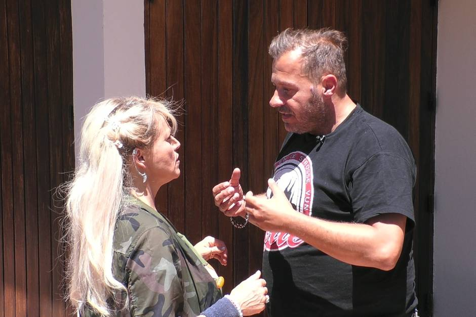 Sabrina Lange und Willi Herren