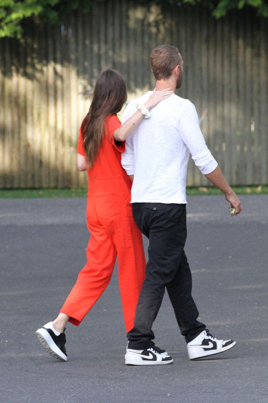 Dakota Johnson und Chris Martin