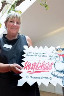 Petra Gottsand vo Hospiz Braunschweig