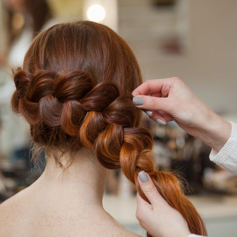 Dutch Braid, Holländische Flechtfrisur, Flechtfrisur, Braid