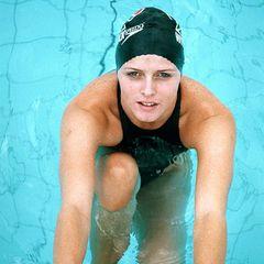 """Die SüdafrikanerinCharlene Wittstock ist Schwimmerin und Bademoden-Model für die """"Sports Illustrated"""", als sie im Jahr 2000 den monegassischen Erbprinzen Albert in Monaco kennenlernt."""