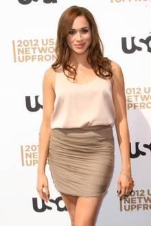 """Die 1981 in Los Angeles geborene Schauspielerin Meghan Markle wird einem breiterenPublikum durch ihre Rolle in der Anwaltsserie """"Suits"""" bekannt."""