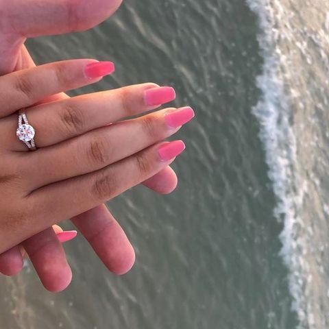 Sara Lombardi, die Schwester von Pietro Lombardi, ist verlobt.