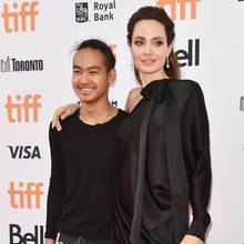Maddox + Angelina Jolie