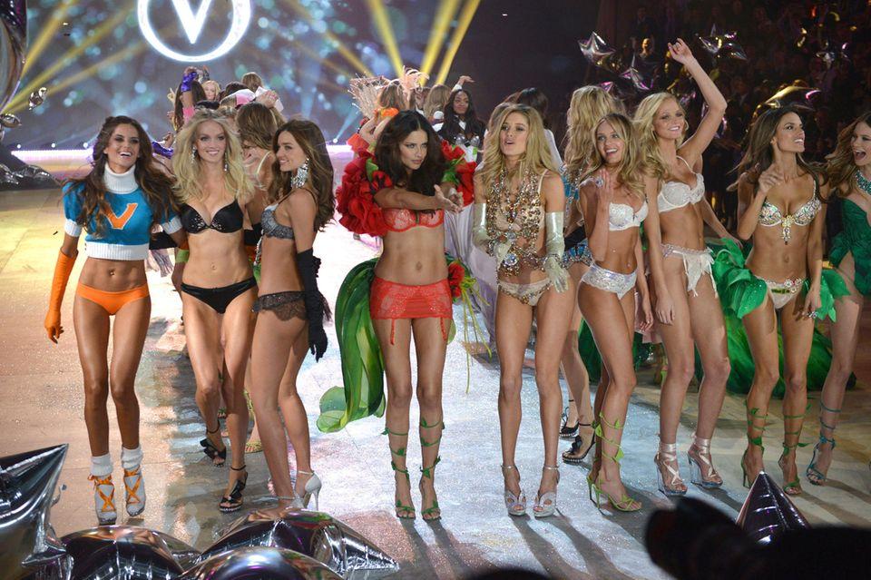 Auf dem Höhepunkt des Erfolges: Victoria' Secret Fashion Show 2012