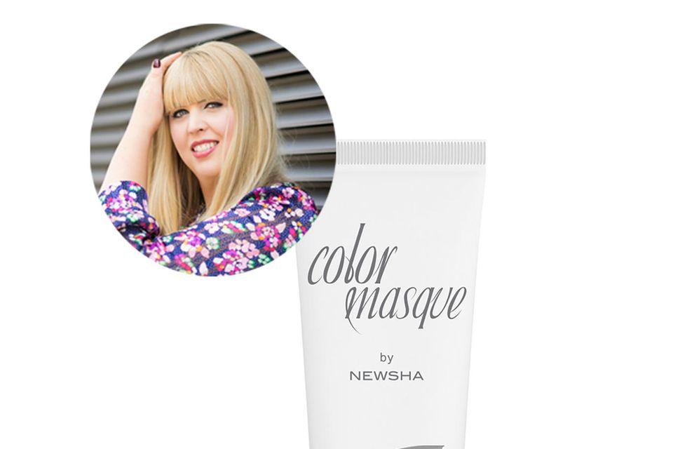 Bei einem Gelbstich in ihrem blonden Haar sieht Beauty-Leitung Nane Rot!