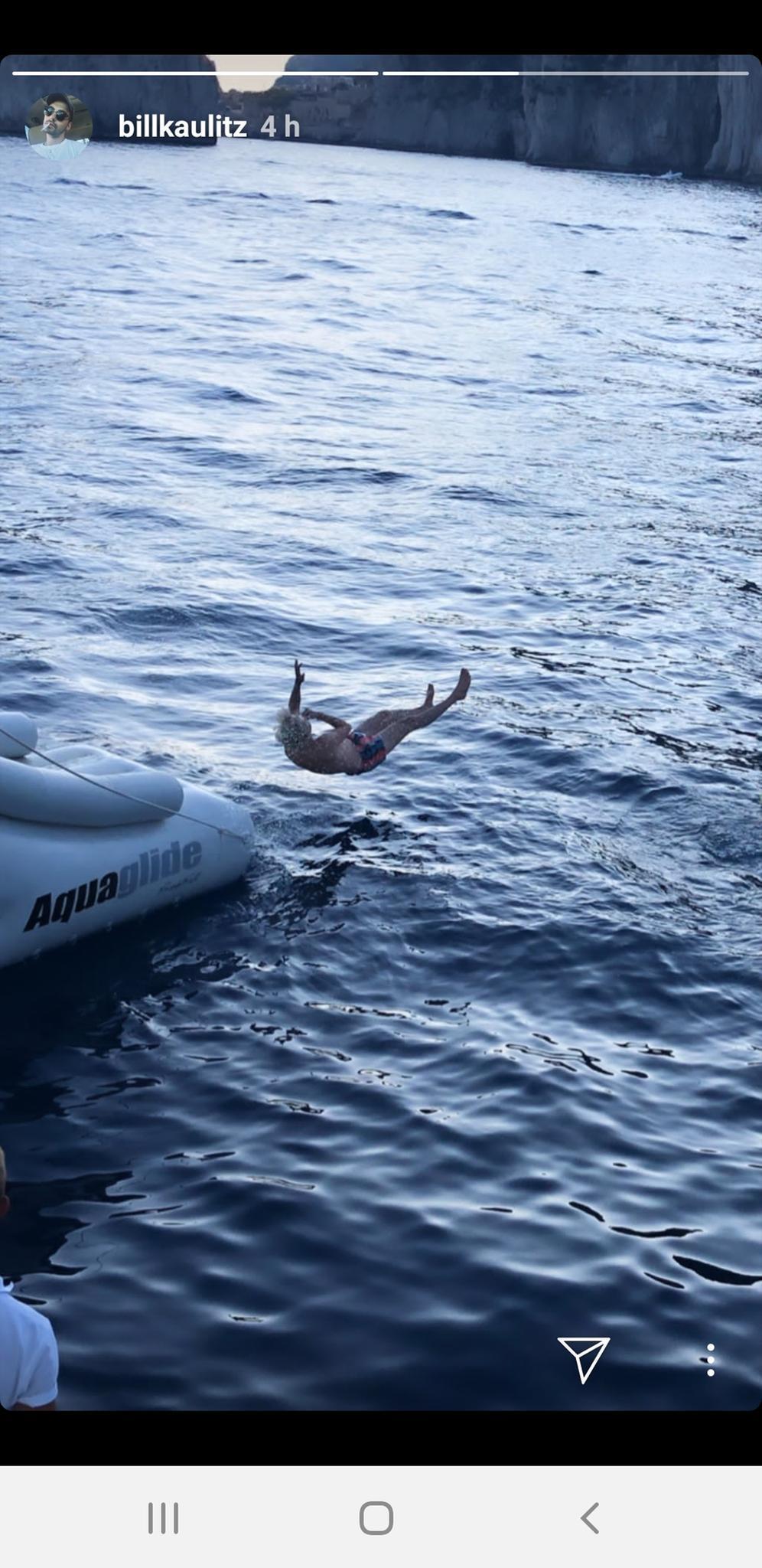 Ab geht's ins Mittelmeer für Bill Kaulitz