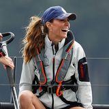 Dass eine Seefahrt lustig macht, trifft definitiv auf Kate zu.