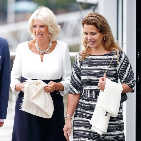 Herzogin Camilla und Prinzessin Haya