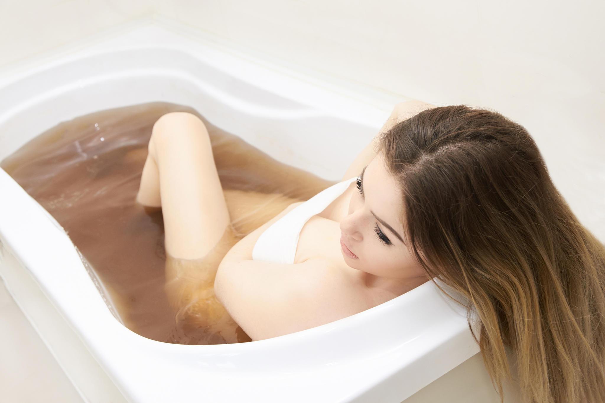 Wohltuendes Bad in Heilerde