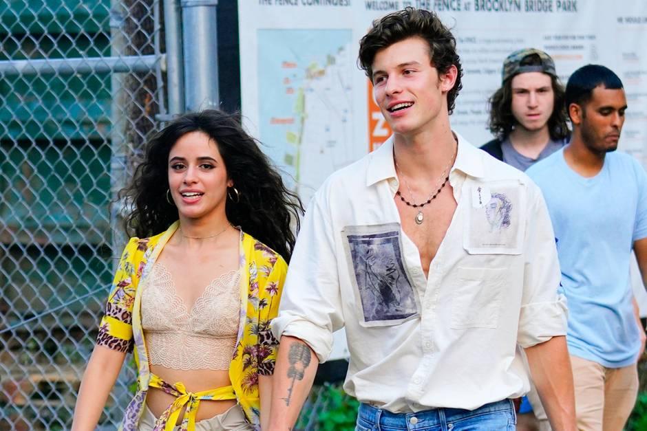 Camila Cabello und Shawn Mendes