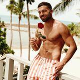 """Rafi Rachek (29)   2018 hat der Fitnesstrainer bei """"Die Bachelorette"""" für viel Stress in der Männervilla gesorgt und hat auch bei Nadine Klein keinen guten Eindruckhinterlassen."""