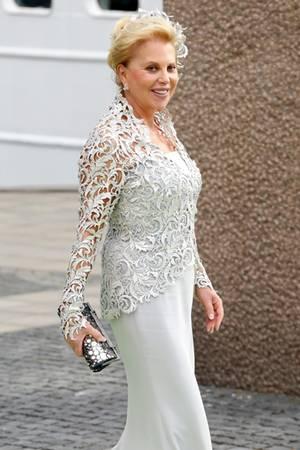 Eva O'Neill war viermal verheiratet, Sohn Chris stammt aus ihrer dritten Ehe.