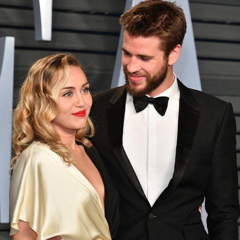 Miley Cyrus und Liam Hemsworth