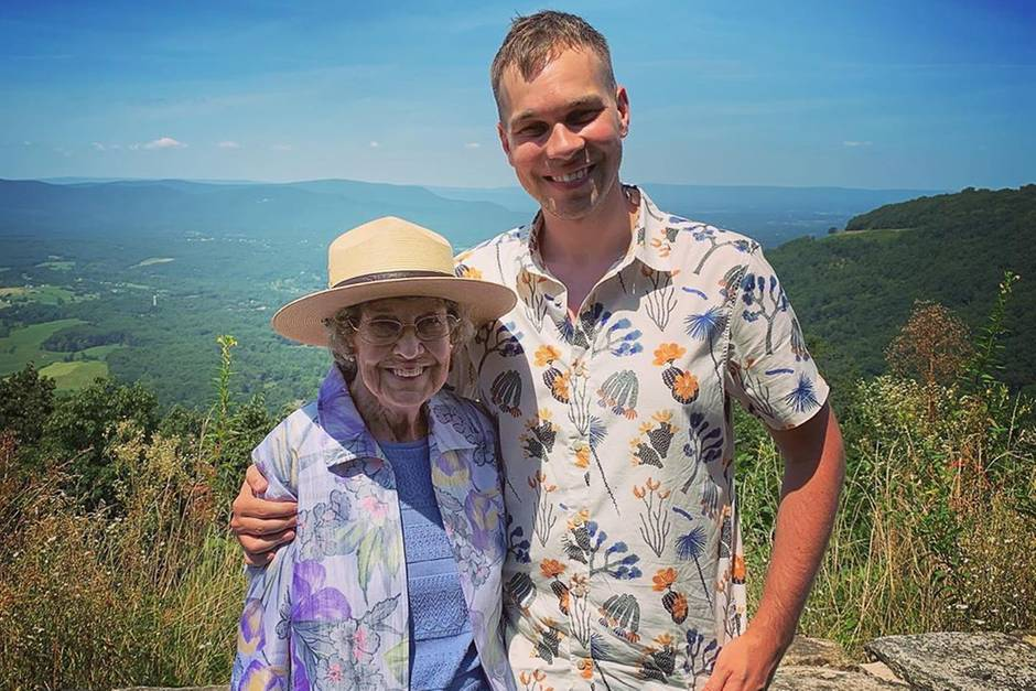 Grandma Joy und Brad