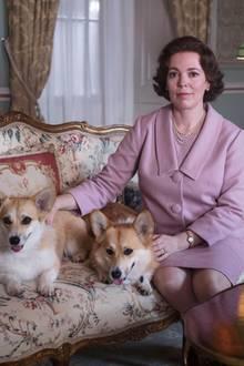 The Crown Staffel 3 mitOlivia Colman als Queen Elizabeth