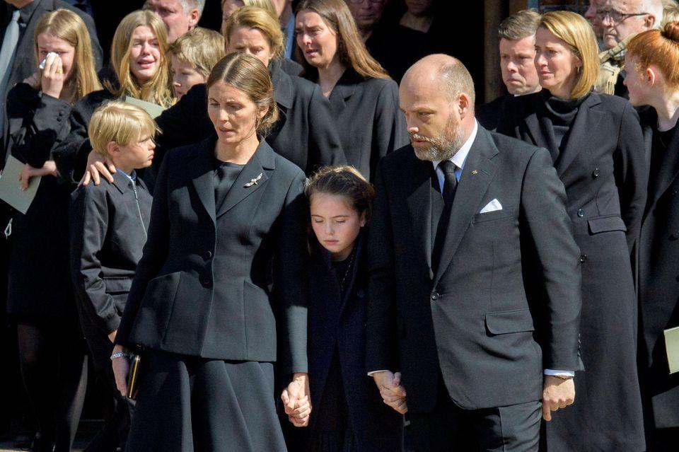 Mode-Milliardär Anders Holch Povlsen und seine Frau Anne müssen drei ihrer vier Kinder zu Grabe tragen.