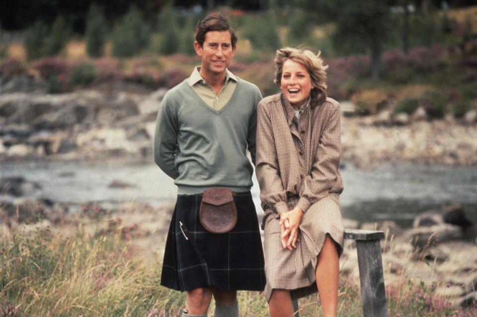 Prinz Charles und Prinzessin Diana 1981