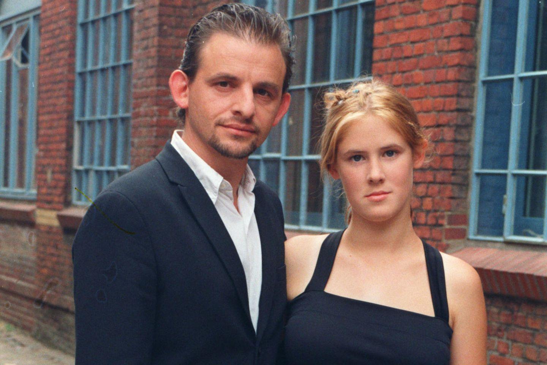 Dominique Horwitz mit Tochter Miriam Horwitz, die nun Heinrich Horwitzheißt