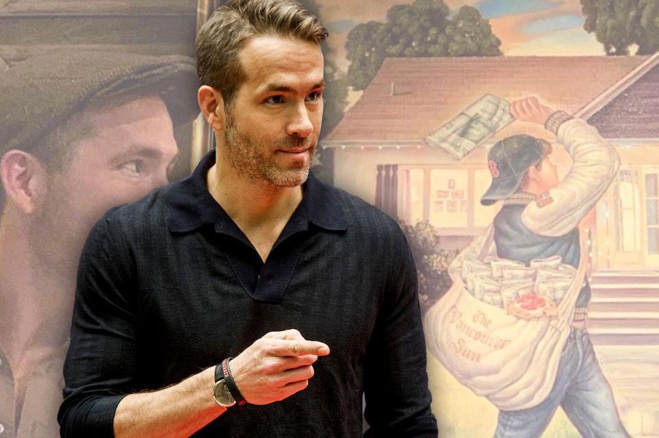 Ryan Reynolds: Das machte der Schauspieler vor seiner Hollywood-Karriere